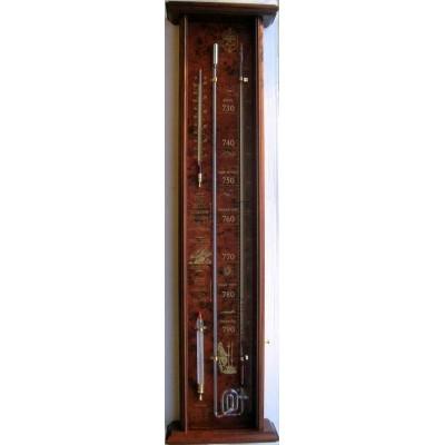 Robert Fitroy's bakbarometer mahonie/wort.