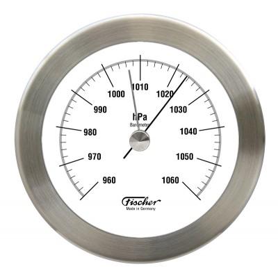 Fischer RVS barometertje