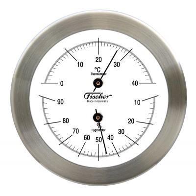 Fischer RVS hygro-/thermometer F1512