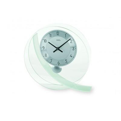 AMS 6 161 Bijzondere glazen design klok