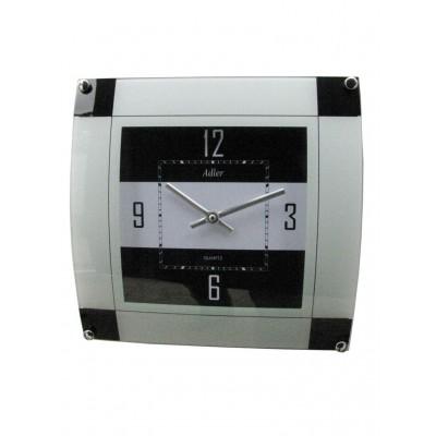 Designklok zwart/wit AER126