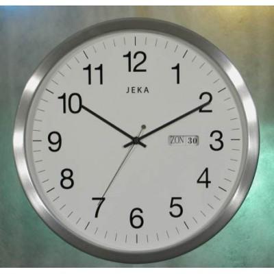 Metalen kalender klok 350DD