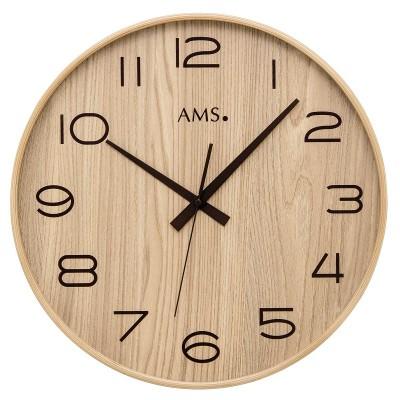 Houten ronde klok XL AM 45522