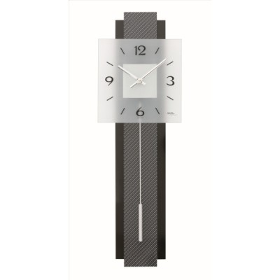 Designklok AMS 7313 Carbon-look