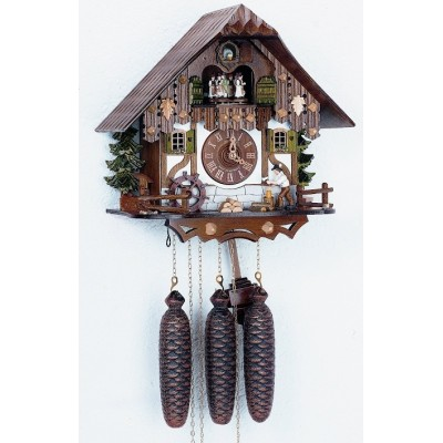Koekoeksklok + houthakker + carrousel 8tmt 6405/10