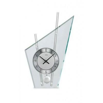 Glazen tafelklok AM 4153