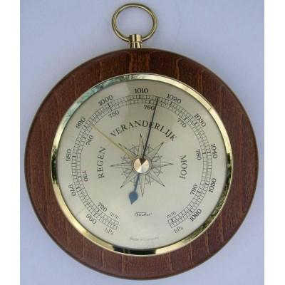 Barometer Fischer mahonie/messing