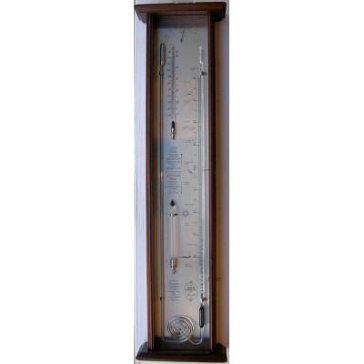 Robert Fitroy's bakbarometer mahonie/alpaca