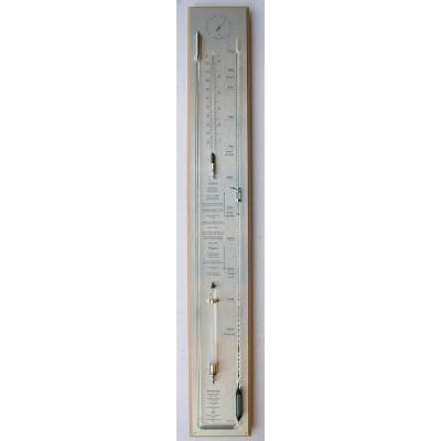 Barometer blank/RVS (meest uitgebreid) AB