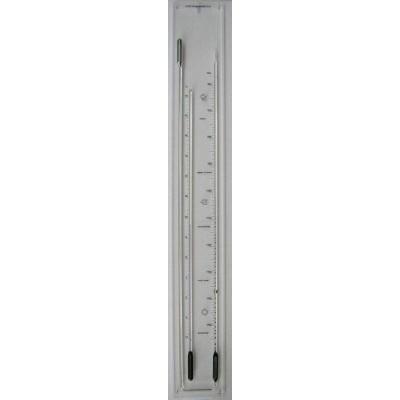 Barometer CT plexiglas zwart