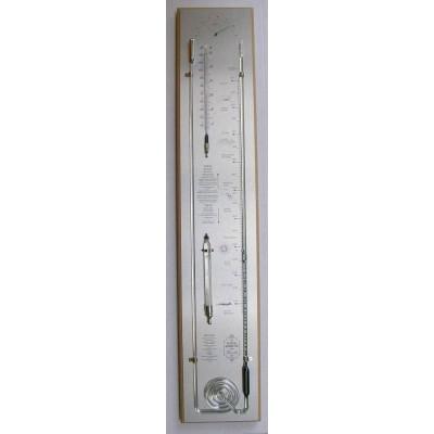 Blanke contrabarometer/rvs PQ