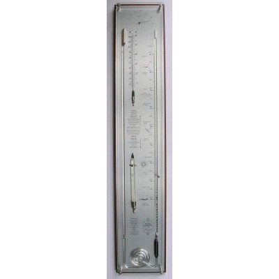 noten/rvs contrabarometer + glas breed