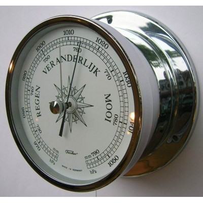 Fischer scheepsbarometer chroom WX