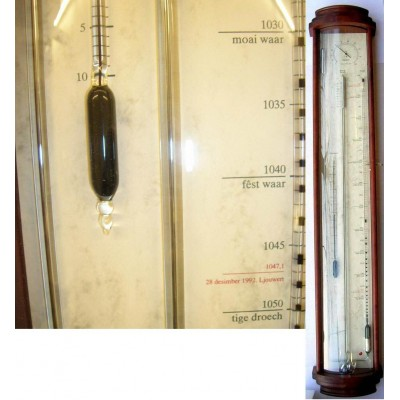 Friese barometer + controleur