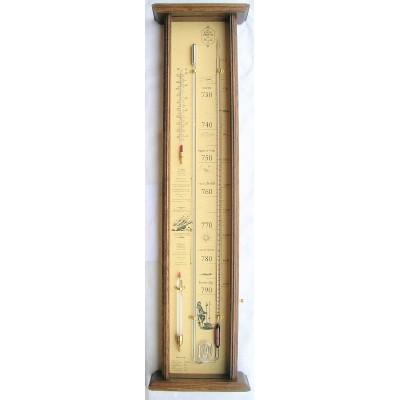 Eiken Huygens barometer Roselli