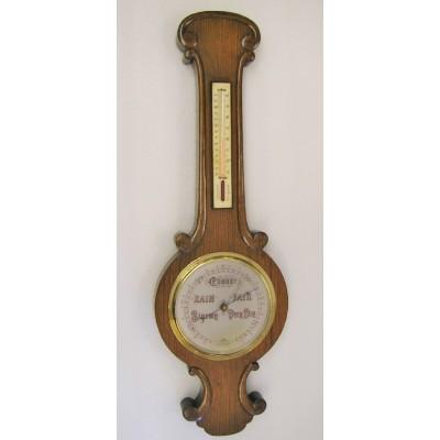PT Engelse eiken barometer