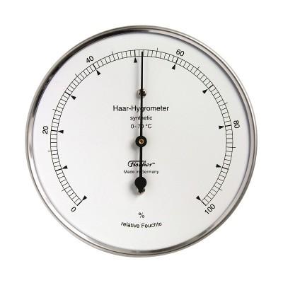 ZX Hygrometer Fischer RVS