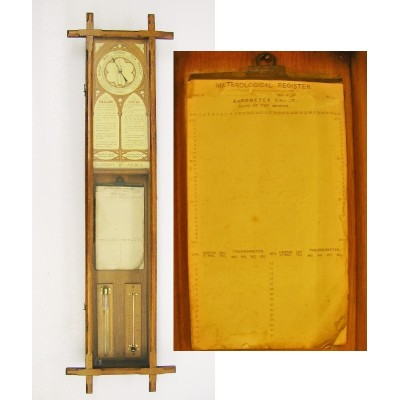Fitzroy aneroid barometer