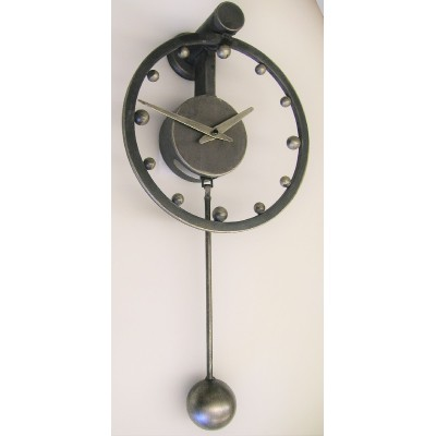 Industriële klok met slinger CB303D