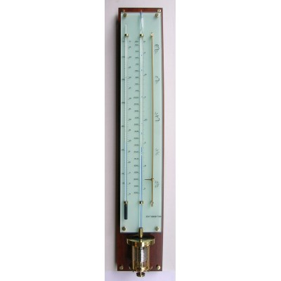 Innovacelli barometer IN708 mahonie/messing