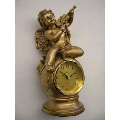 Tafel klok met engel 'Pendule-Frivole'