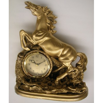 Klok met paard 'Pendule Frivole'