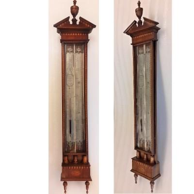 Antieke Hollandse barometer Stoppani