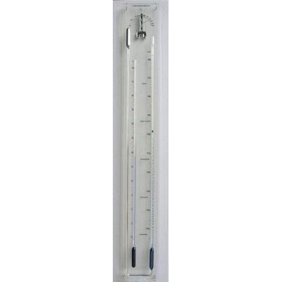 Plexiglas barometer TH, blauw