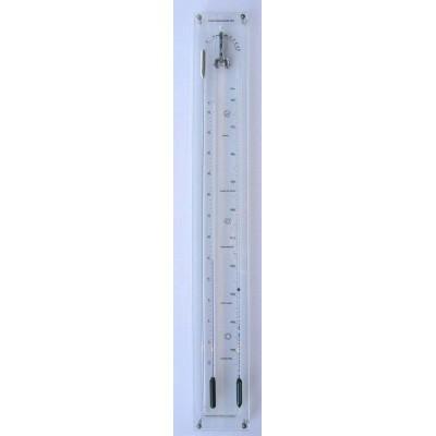 Plexiglas contra-barometer + glas