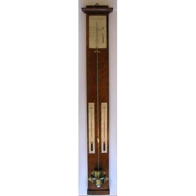 Franse mahonie barometer