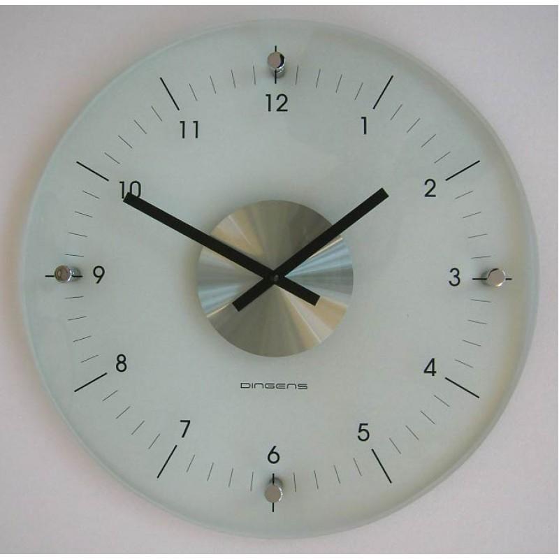 D d glazen ronde klok transparant - Moderne klok ...