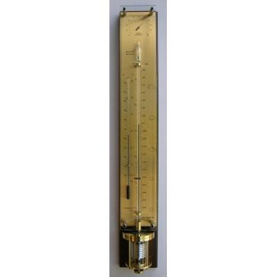 Innovacelli mahonie/messing barometer  IN712.581MAH