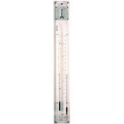 Glass barometers sandblasted K032.517