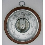 Ronde barometers