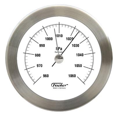 Fischer RVS barometer F1512